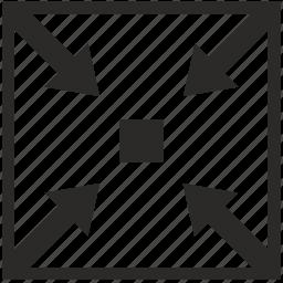 micro, min, minimum, small, square icon