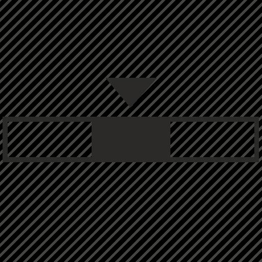 min, minimum, size, width icon