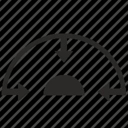 figure, min, minimum, sphere icon