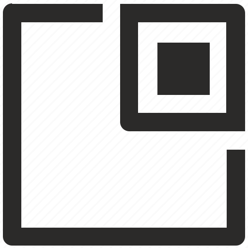 min, minimum, square, ui, win, window icon