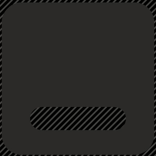 element, min, minimizer, ui, window icon