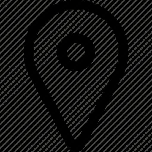check in, here, locate, location, location mark, map icon