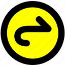 navigation, toolbar, undo icon