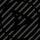 arrow, go, gps, next, right icon