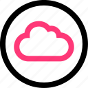 data, save, weather icon