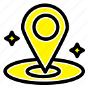 location, navigation, place icon