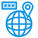 location, map, navigation, world icon