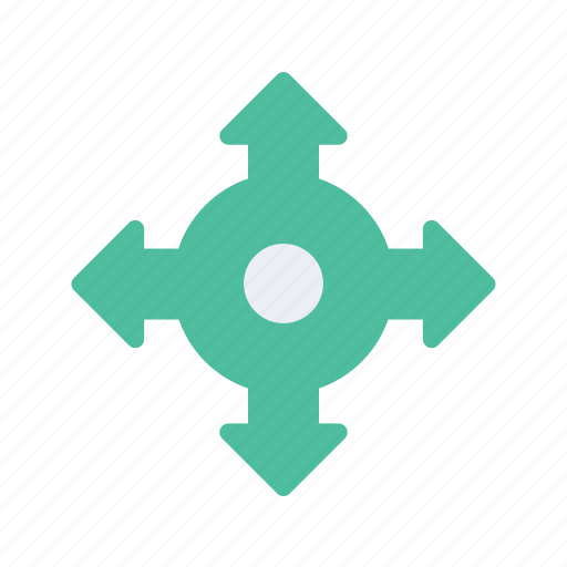 arrows, location, map, navigate, navigation icon