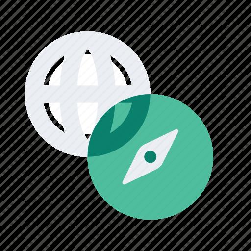 compass, international, location, map, navigate, navigation icon