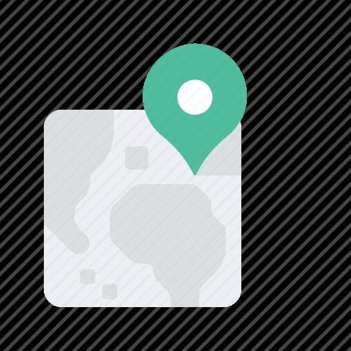 Landscape, location, map, navigate, navigation, pin icon - Download on Iconfinder