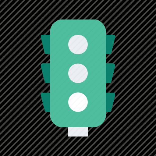 lights, location, map, navigate, navigation, traffic icon