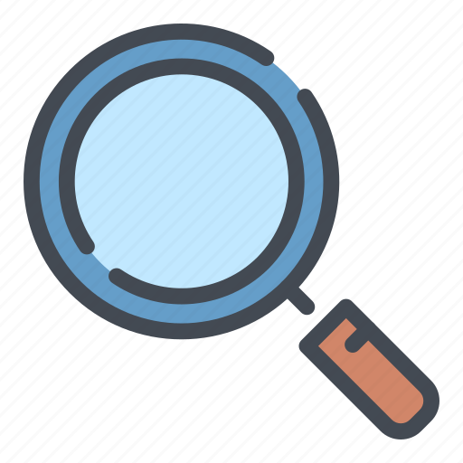 Find, glass, loupe, magnifier, search, view, zoom icon - Download on Iconfinder