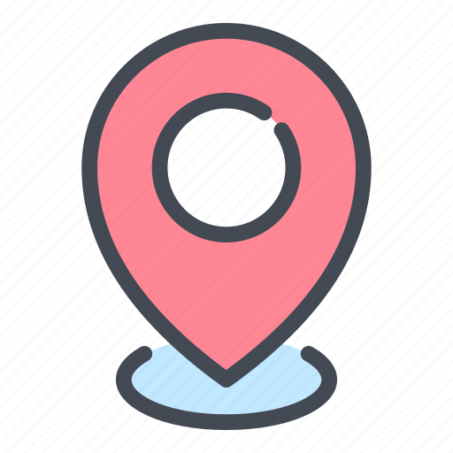 Gps, location, map, marker, navigation, pin, pointer icon - Download on Iconfinder