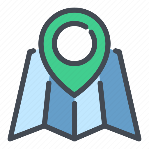 Country, direction, location, map, navigation, pin, pointer icon - Download on Iconfinder