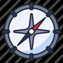 compass, travel, direction, map, exploration