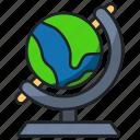 globe, earth, world, map, travel