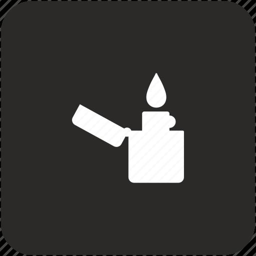 fire, flame, smoke icon