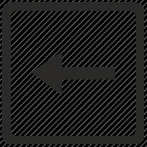 arrow, last, left, navigation icon