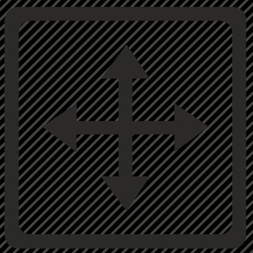 cursor, instrument, move, ui icon