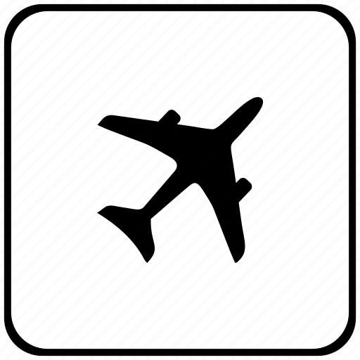 aeroplane, airbus, airlines, fly, form icon