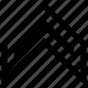 arrow, go, navigation, pointer, up icon