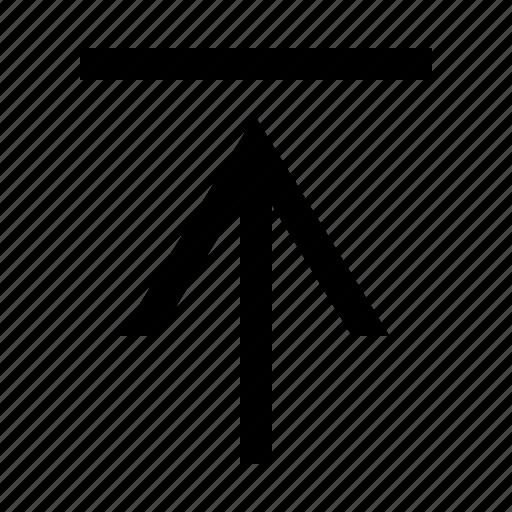 arrow, tab, up icon