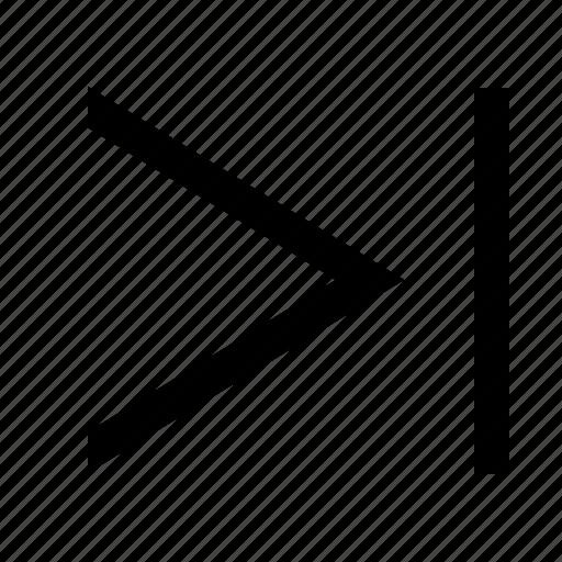 chevron, right, tab icon