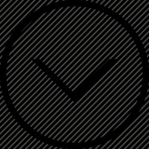 circle, down, drop icon