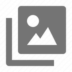 image, navigation, photo icon