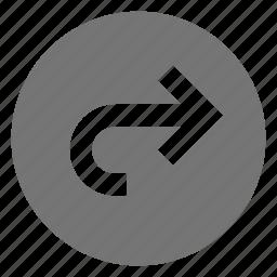 arrow, forward, navigation, next icon