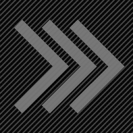 arrows, forward, navigation, next icon