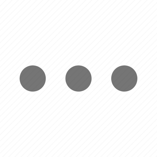 horizontal, navigation icon