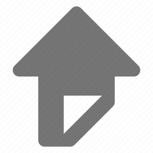 arrow, navigation, up icon