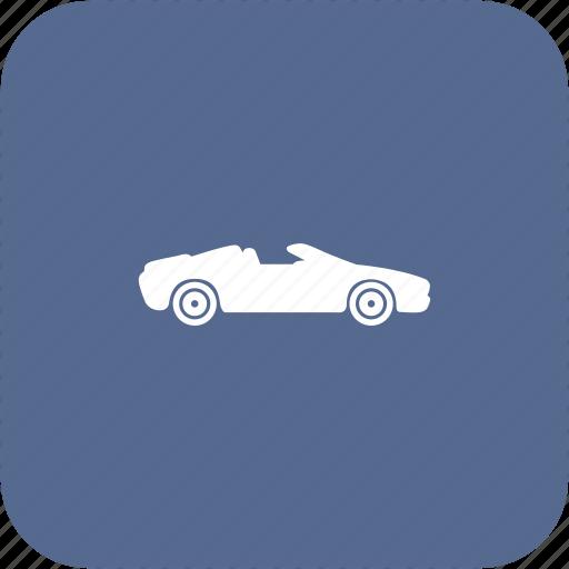 auto, cabrio, cabriolet, car, sport icon