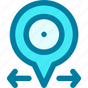 direction, location, marker, pin, placeholder, pointer, position
