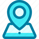 gps, location, marker, pin, placeholder, pointer, position
