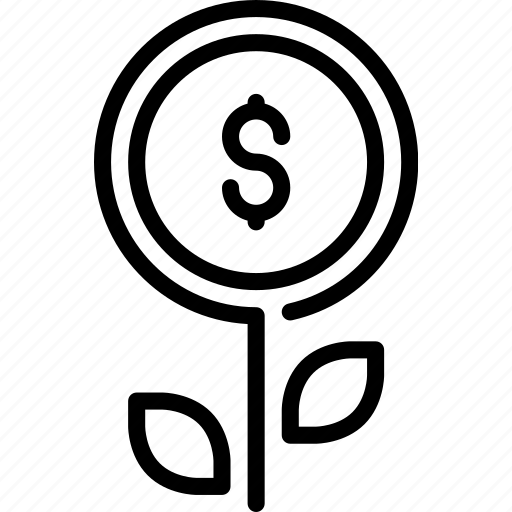 charity, coin, financial support, foundation, growth, ngo, organisation icon