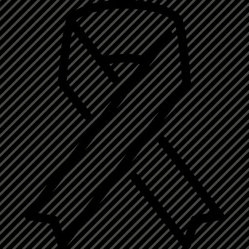 charity, foundation, freedom, ngo, organisation, ribbon icon