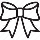 bowknot, fabric, fashion, needlework, sewing, tailor icon