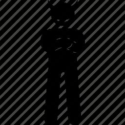 devil, evil, satan icon