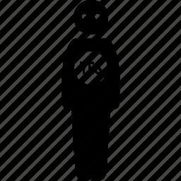conform, conformist, loyal, man, yes icon