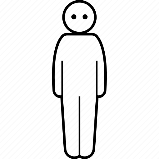 colorless, dull, neutral, person icon