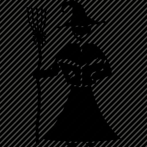 black magic, crafty, witch, witchcraft icon