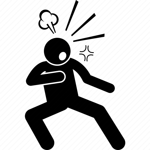 defend, defensive, fight, man, person, ready, sensitive icon