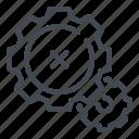 cogwheel, delete, gear, options, preferences, remove, settings