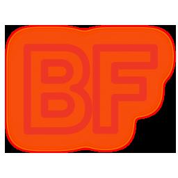 buzzfeed, media, neon, set, social icon