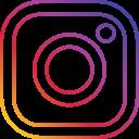 instagram, photo, round, social icon