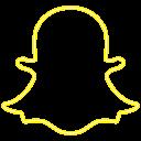 bell, logo, snapchat, social icon