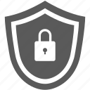 internet, lock, network, security, shield icon
