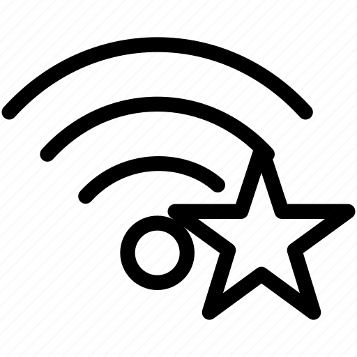 bookmark, connection, favorite, network, wifi, wireless icon
